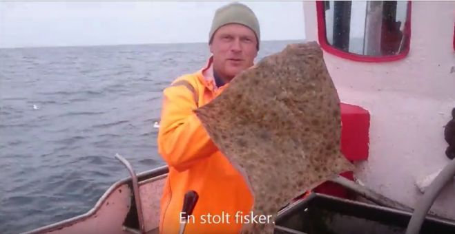 På Fisketur på Nordsøen - se video