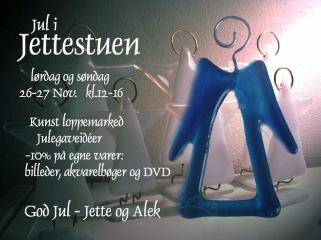 Jul i Galleri Jettestuen