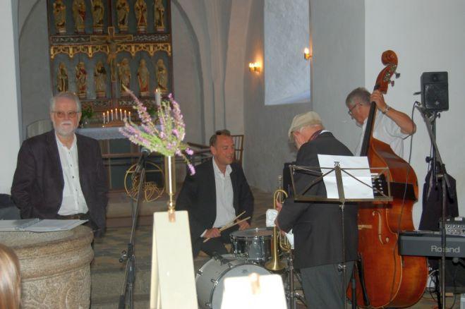 Hot Stompers gav koncert i Fur Kirke​ - Se video
